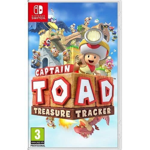 Captain Toad Treasure Tracker Nintendo Switch Game